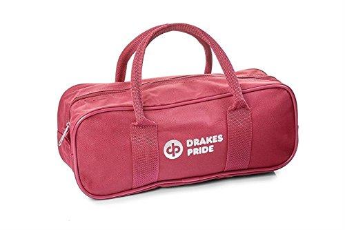 DrakesPride BowlandJack-Tasche, für 2Bowls und 1Jack rot - Maroon