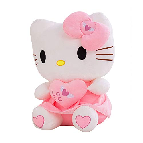 XQYPYL Hello Kitty Plüsch Spielzeug Kissen Puppe Kinder Valentinstag Geburtstag Geschenk 30cm-70cm,01,55cm (Hello Kitty Plüsch-affe)