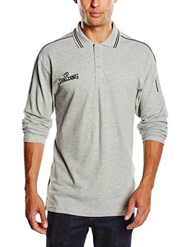 Spalding 3002796 Poloshirt mit Langen Ärmeln Herren