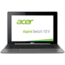 Acer Aspire Switch 10V (10.1 inch HD IPS) convertible notebook (Intel Atom x5-Z8300, 4GB RAM, 64GB eMMC, Win 10 Home) anthracite. charcoal