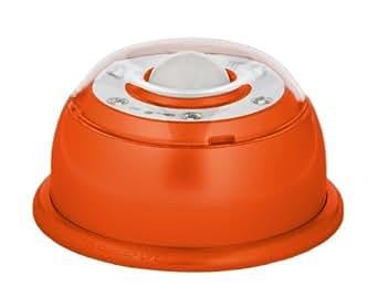 led lampe mit bewegungsmelder magnetisch farbe orange. Black Bedroom Furniture Sets. Home Design Ideas