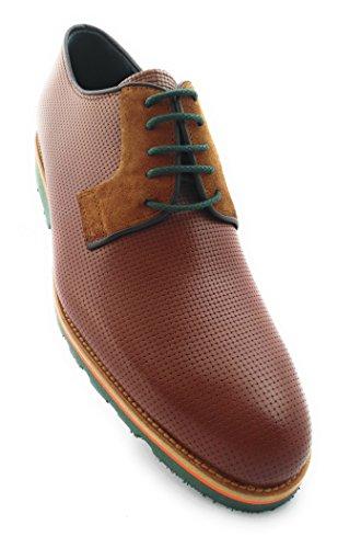 Tienda De Descuento Aclaramiento Extremadamente Zerimar Scarpe per Uomo realizzate in Pelle Fashion Design Rivestimento Interno della Pelle Pelle 9HnXG2OXy