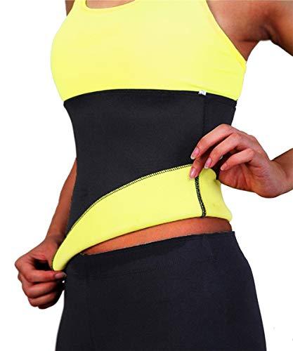 TINGSU Taille Trainer Trimmer Slimmerbelt Hot Body Shapers Neopren Korsett Sauna Schweiß Bauch Band für Gewichtsverlust Workout Fitness