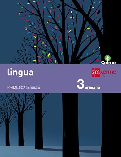 Portada del libro Lingua. 3 Primaria. Celme  - Pack de 3 libros - 9788498544206