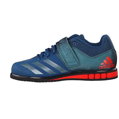 Adidas Powerlift 3.1 Men's Trainers Weightlifting Shoes (6 UK, Petrol Green/Red)