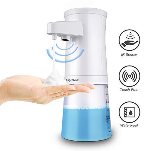Augenblick Auto Espuma Dispensador de jabón, Sensor infrarrojo sin Contacto, Dispensador automático de Espuma, Diseño Impermeable, para Cocina y baño