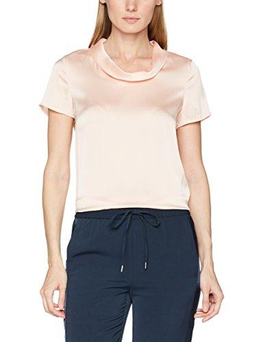 ESPRIT Collection 057EO1F010, Blusa para Mujer, Rosa (Nude), 36