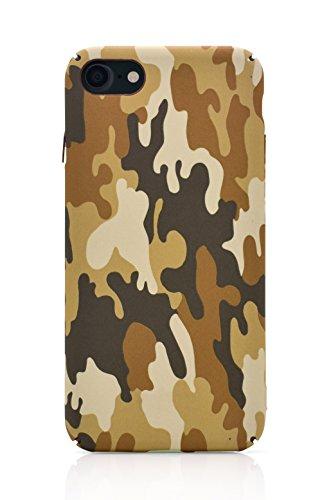 iProtect Schutzhülle Turbo Engine Apple iPhone 7 Hardcase schwarz Camouflage Braun