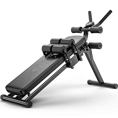 DLJAC Hantelbank Multifunktionale Höhenverstellbare Schrägbank Hyper Rückenstrecker Krafttraining Fitness Workout Station