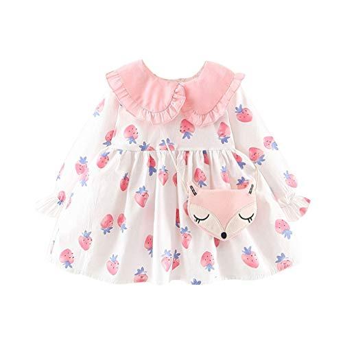 Livoral Baby Jungen Mädchen Kapuzenpulli Hosen Trainingsanzug Hoodie Outfits Set Halloween Kleidung 0-24Month(Weiß,110)