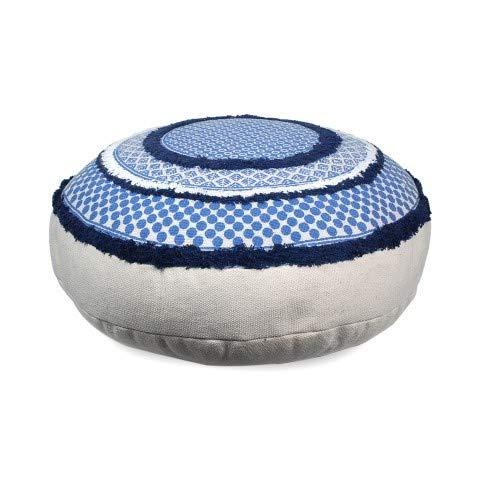 Artdeco Pouf Bleu Indien 75 cm
