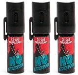 3 Stück K.O. - Spray 007 CS-Gas, Reizgas - 15ml