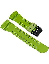 Casio G-shock correa de poliuretano verde