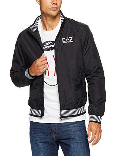 Emporio Armani EA7 Mens MIGNANIO Schwarz Jacken XL