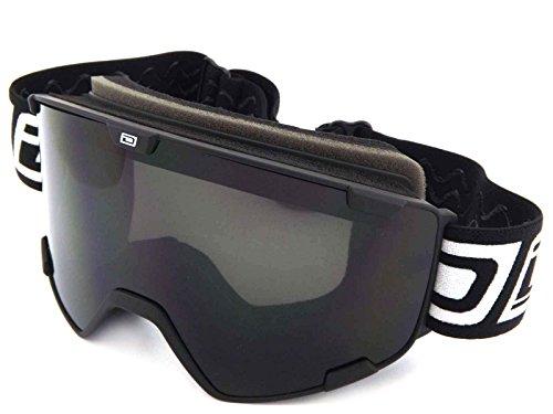 Dirty Dog Goggles Avalanche Matte Black Grey Smoke DD54214