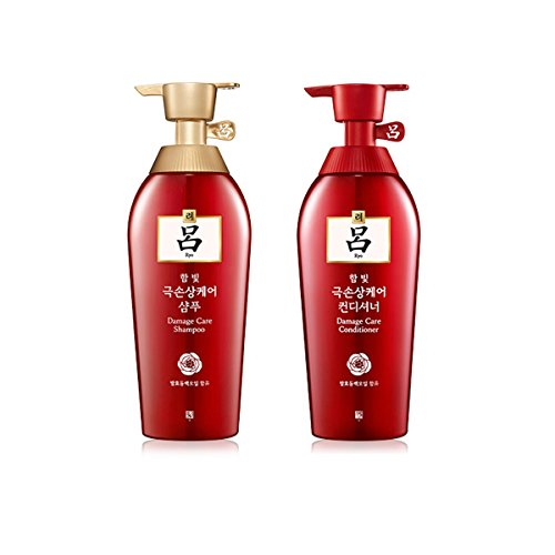 Amore Pacific Ryoe Korean Herbal Anti Hairloss Damaged Hair Shampoo Conditioner Each 500Ml