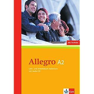 Allegro A2: Lehr- und Arbeitsbuch + Portfolio + Zusatzmaterial + Audio-CD