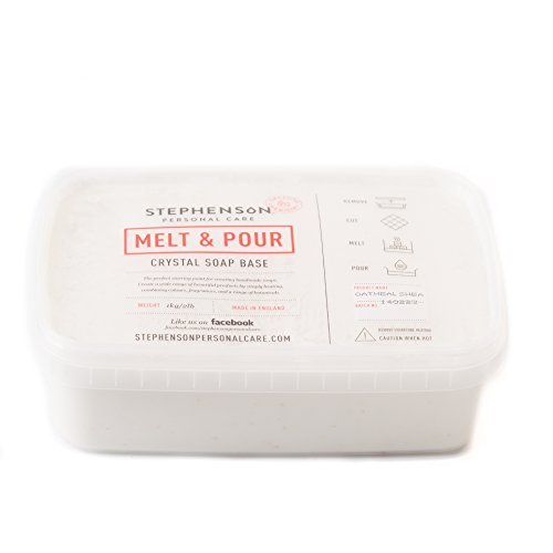 Melt and Pour Soap Base - Oatmeal & Shea Butter - 1Kg
