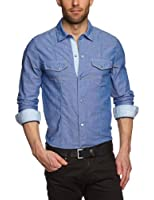 Mavi Herren Freizeithemd Chambery Shirt; 0264813911