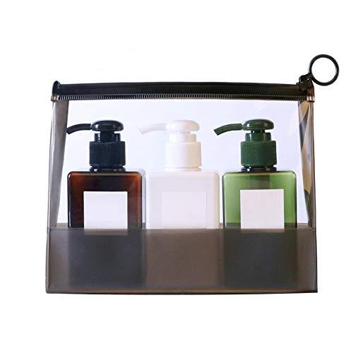 Spray-flasche Set Pack (Reiseflaschen-Set, tragbare Reise-Kosmetikflaschen, Pack-Set für Kosmetik, Make-up, wiederverwendbarer Behälter)