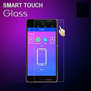 DASHMESH SHOPPING SMART TOUCH 2.5D TEMPERED GLASS WITH CURVE EDGES FOR Samsung Galaxy E5 WITH SENSORED TECHNOLOGY
