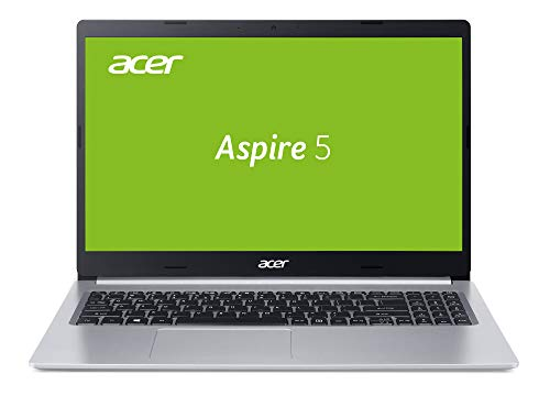 Acer Aspire 5 (A515-54G-50F2) 39,6 cm (15,6 Zoll Full-HD IPS matt) Multimedia Laptop (Intel Core i5-10210U, 8 GB RAM, 1.000 GB PCIe SSD, NVIDIA GeForce MX250, Win 10 Home) silber