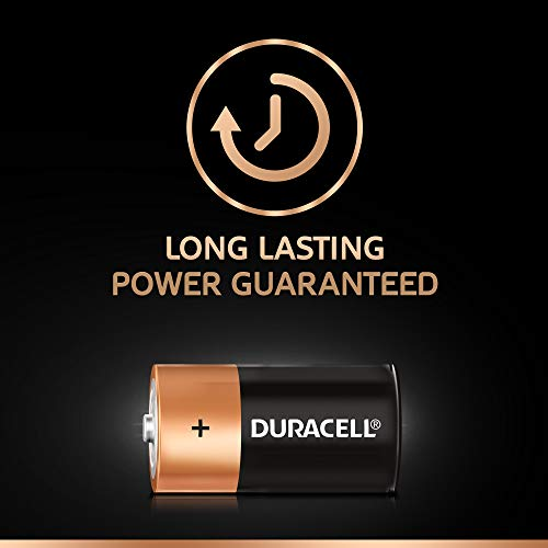 Best duracell power bank in India 2020 Duracell C Alkaline Battery with Duralock Technology (Black and Brown, Pack of 2) Image 3