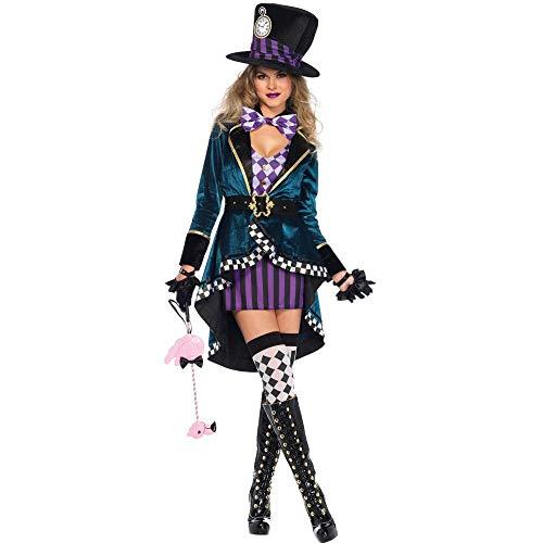 Halloween Halloween Erwachsenen Weiblichen Magier Leistung Kleidung Dompteur Stadium Kostüm, Bild, Farbe, - Weibliche Magier Kostüm