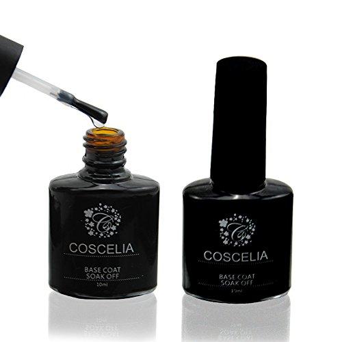 Coscelia Gel UV Base Primer Soak off Pour Vernis Ongle Manucure 10ml