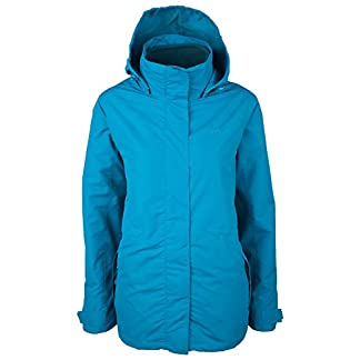 Mountain Warehouse Fell Womens 3 in 1 Jacket -Water Resistant Rain Jacket, Adjustable Hood Ladies Winter Triclimate Jacket, Packable Hood - Ideal Womens Coat for Walking 10