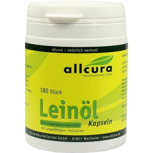 Leinöl Kapseln 180 St. à 640 mg