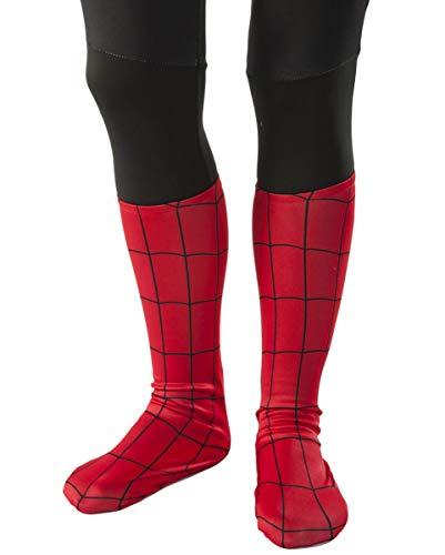 an Kinder-Stiefelstulpen als Superhelden Kostümzubehör von Marvel Comics ()