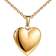 d4cfa08d7954 colgante corazon oro - Amazon.es