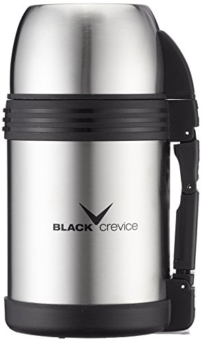 Black Crevice Thermos/kühlkanne Thermoskanne, silber, 22 x 12 x 12 cm