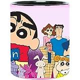 Shinchan Family Cartoon Coffee Mug For Friends/Birthday Gifts For Kids/Return Gifts By Impresion
