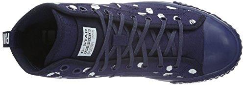 G-Star FALTON WMN TWILL, Sneakers Basses femme Bleu - Blau (dk navy 881)