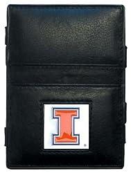 NCAA Illinois Fighting Illini Leather Jacob's Ladder Wallet