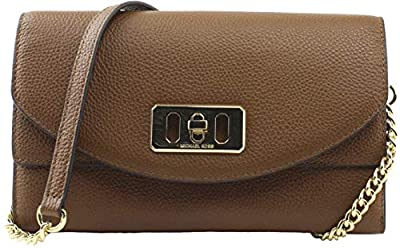 Michael Kors Karson Wallet Clutch Leather Luggage