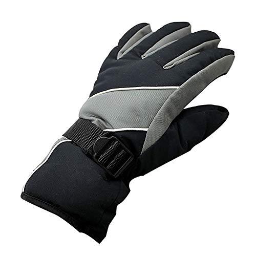 Qlans Die Wasserdichten Ski-Handschuhe Mens, Winter-thermische warme Snowboard-Handschuhe