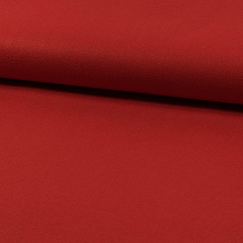 Deko- Bastelfilz 1mm rot -Preis gilt für 0,5 Meter-