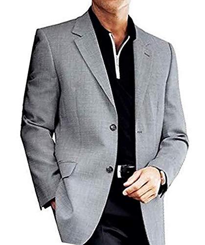 Élégant Veste de costume de Sandro Pozzi en noir Blanc À Carreaux - Noir & Blanc, 50