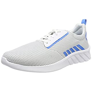 K-Swiss Men's Aeronaut Trainers, (White/Strong Blue 122), 10 UK
