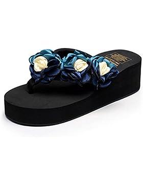 pengweiPantofole, sandali, tacchi e scarpe da spiaggia antiscivolo , 4 , US8.5/ EU40 / UK6.5/ CN40