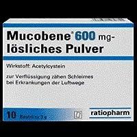 Mucobene® 600 mg lösliches Pulver Menge 10 st preisvergleich bei billige-tabletten.eu