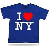 I Love New York NY Cuore ricordo divertente T dono camicia Comics classica Abbigliamento