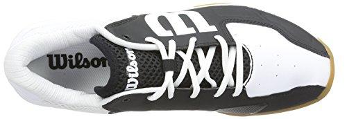 Wilson  RECON, Baskets de badminton mixte adulte Multicolore - Mehrfarbig (Schwarz/Weiß)