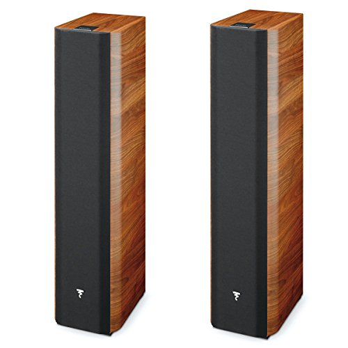 'Focal Chorus 716–SPEAKER SPEAKERS (Walnut, 2,5-voies, Ground, Closed, Built-in Speaker, 2.54cm (1))