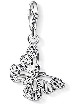 Thomas Sabo Damen-Charm-Anhänger Schmetterling Charm Club 925 Sterling Silber 1038-001-12