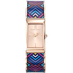 Killer Woman - Christian Lacroix - Watch - Steel Bracelet PVD Pink Lacquered Print - 8010210