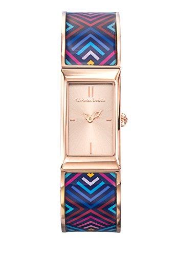 zeigt-damen-christian-lacroix-unglaubliche-armband-stahl-pvd-rose-lackiert-bedruckt-8010210